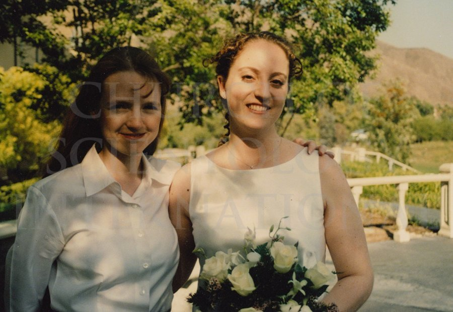 Claire with the bride at Golden Era