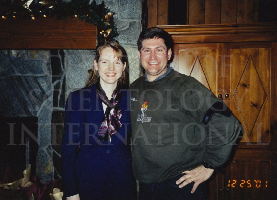 Marc and Claire enjoying Christmas at Golden Era