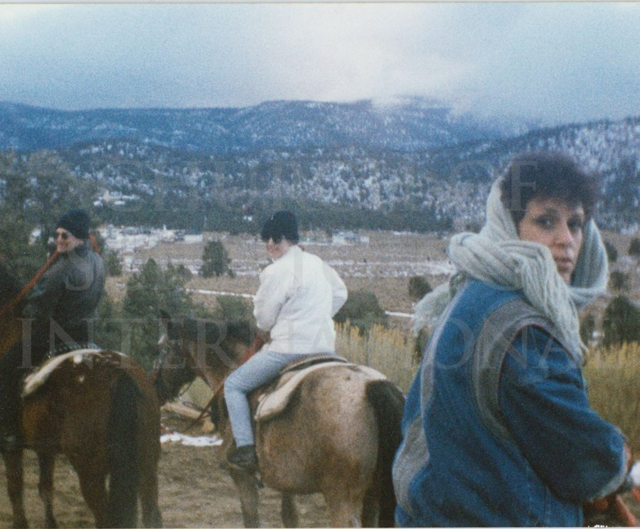 Marc and Claire had lots of time to enjoy fun outings like horseback riding